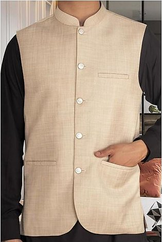 Waist coat For Men SKU: GA3357-Beige