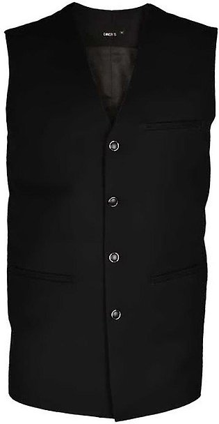 Waist coat For Men In Black SKU: GA3130-Black