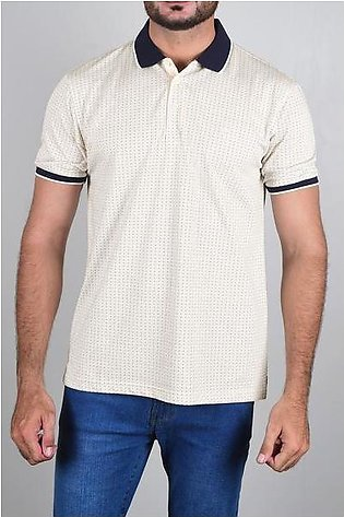 Diner's Men's Polo T-Shirt SKU: NA650-Beige