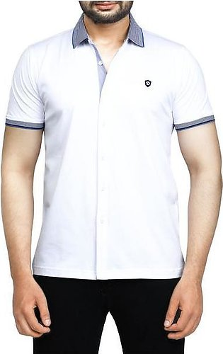 Diner's Men's Polo T-Shirt SKU: NA692-White