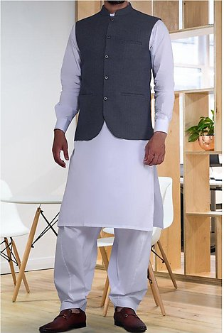 Waist coat For Men for Men SKU: GA3361-BLUE
