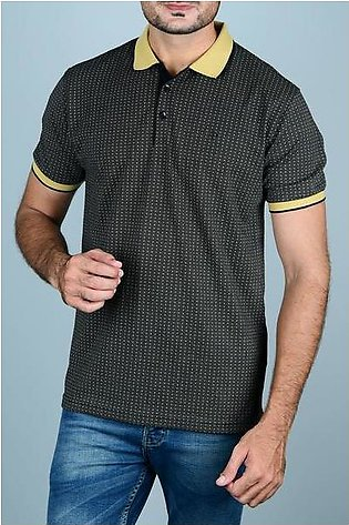 Diner's Men's Polo T-Shirt SKU: NA650-Black