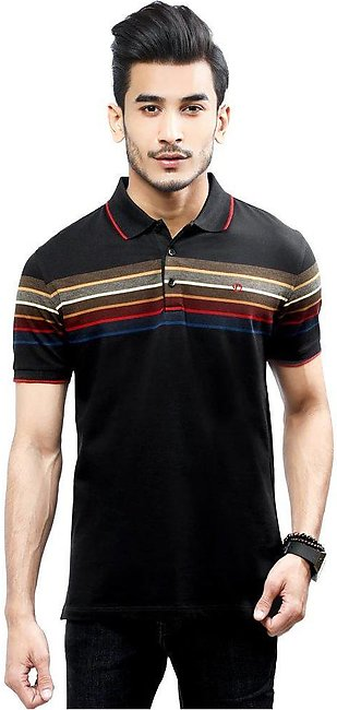 Diner's Men's Polo T-Shirt SKU: NA702-Black