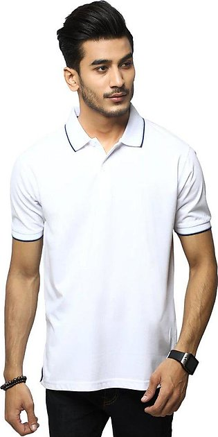 Diner's Men's Polo T-Shirt SKU: NA685-White