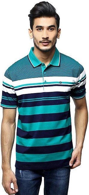 Diner's Men's Polo T-Shirt SKU: NA696-Green