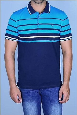 Diner's Men's Polo T-Shirt SKU: NA651-AQUA