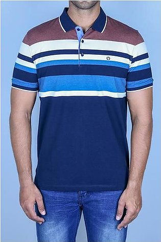 Diner's Men's Polo T-Shirt SKU: NA652-BROWN