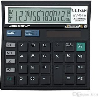 Calculator Ct-512 - Citizen - 12 Digit