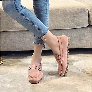 Women Ladies Fashion Slip On Round Toe Flat Casual Loafer Sneaker Doug Shoes