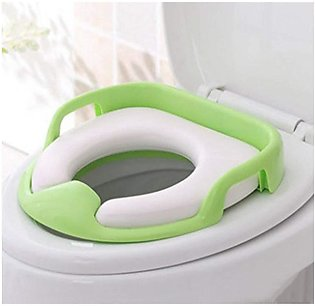 Baby Potty Chair/Children Toilet Seat Comfortable Soft Toilet Mat