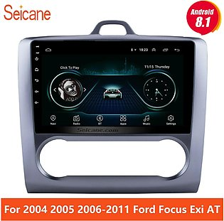 2 DIN 9 Inch Android 8.1  Navigation Touchscreen Quad-core Car For 2004 2005 20…