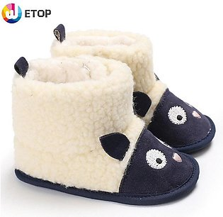 Baby Hair boots baby boots toddler boots Baby boots Soft Bottom Boots baby shoe…