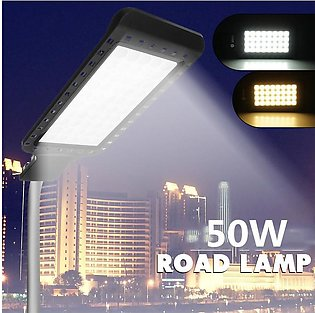 【Flash Deal】50W 60 LED 2835SMD Road Street Light Industrial Floodlight Wall Lam…