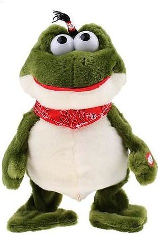 Dancing Electric Frog Stuffed Toy