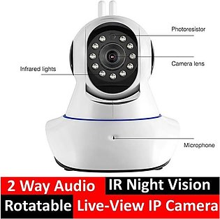 IP Camera with Two Antennas 960p Security IP Camera  Intelligent Protection Wif…