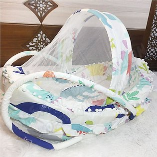 New Latest Ship Design Large Baby Bed With Mosquito Net In Fantastic Color's - …