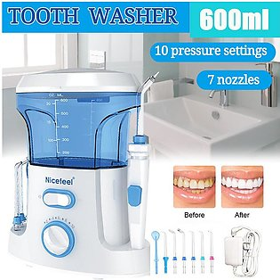 FC168 Electric Dental Floss 125psi Tooth Cleaner Household Teeth Washer Desktop…