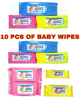 baby wipes 80 sheets (10 packets)