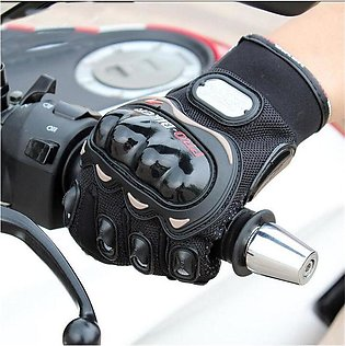 Pro-Biker Carbon Fiber Bike Motorcycle Motorbike Racing Gloves