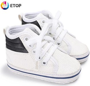 0-1 year old prewalker white help baby shoes soft bottom shoe toddler shoes bab…