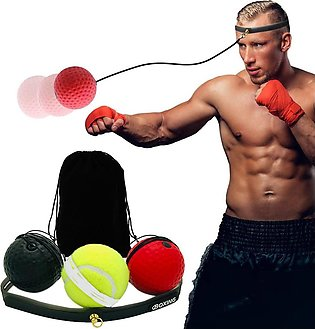 DuangDuang Boxing Punch Exercise Fight Ball With Head Band For Reflex Speed Tra…