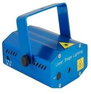 Stage Laser Decorative Fun Light - Blue1 x Stand1 x Adapter (Power Supply)