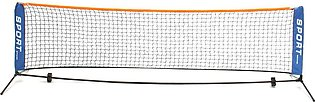 Portable Tennis Court Net Standard Steel Cable Included Volleyball Training 3M