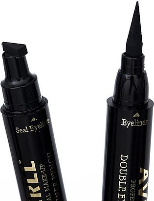 MISS ROSE - eye liner marker with wings stamp - eye liner - eye liner stamp