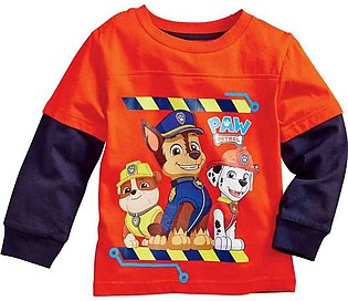 Children'S Spring And Autumn Boys Paw Patrol Long-Sleeved T-Shirt Top Children'…
