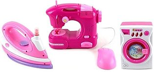 Happy Family Household Appliances Play Set