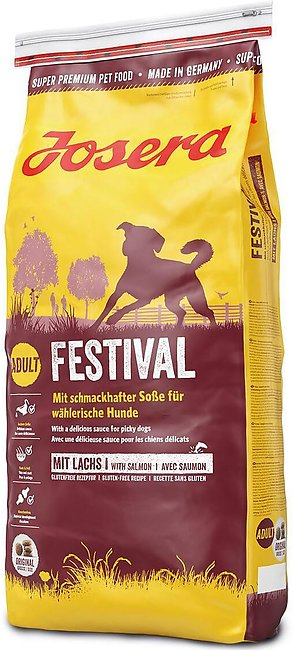 JOSERA Festival dog food With delicious sauce for picky dogs 15 kg