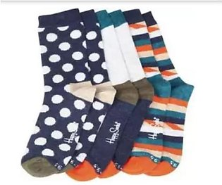 Pack Of 3 -Imported Socks For Kids latest design in Multi color