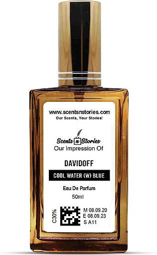 Titanic - Our Impression of Davidoff Cool Water (W) Blue (Spray Perfume)