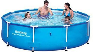 Bestway 56406 Steel Pro Inflatable Round Swimming Pool