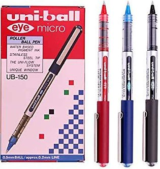 Uni ball eye micro Pack Of 3 Pcs - 0.5mm - Multi Color