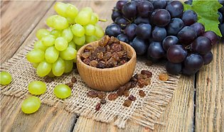 Raisin (Kishmish) Dry Black Grapes Without Seeds For Cooking – 500 Grams