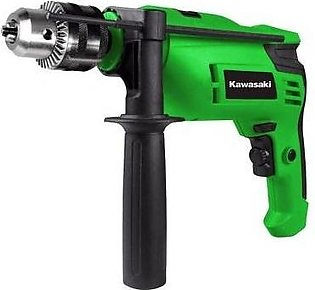 Impact Drill Machine - KAWASAKI - 750 Watts - 13 mm - Full Metal Keyed Chuck - …