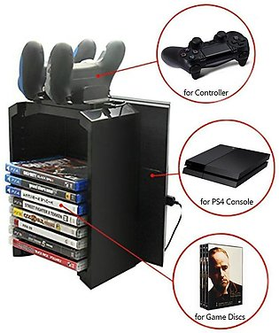 Multifunctional Storage Stand Kit for PS4 Pro PS4 Slim PS4 and Xbox One S with …