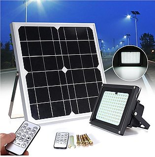 120 LED Dimmable Solar Power Outdoor Garden Path Security Flood Light Spot Lamp