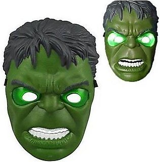 Super Hero HULK Toy Mask Led light Mask For Kids