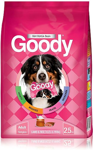 Goody Dog Dry Food - Lamb And Rice  - 2 kg Or 15 Kg