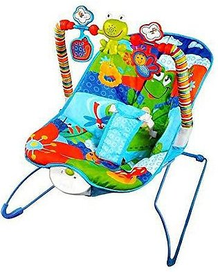 Cartoon Deluxe Baby Bouncer Musical Children Toy Electric Rocking Chair