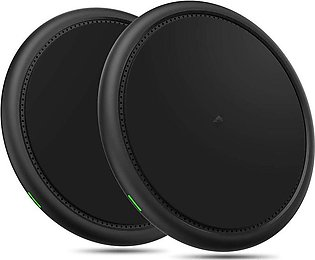 Wireless Charger,2 Pack 10W Wireless Charging Compatible for iPhone Xs/XS MAX/X…