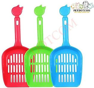 CAT LITTER SHOVEL -  PLASTIC SCOOP - CAT SAND CLEANING PRODUCTS TOILET FOR DOG …