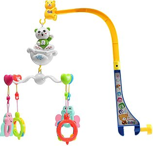 ZB777-9 Melodies Song Baby Mobile Crib Bed Bell Kid Toy Electric Music Box Love…
