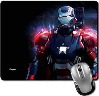 Mouse Pad For Gaming And Office Black Non Slip Large Size