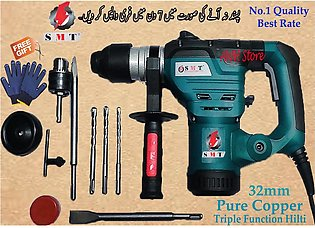 Rotary Hammer Drill Machine / Hilti Machine Triple Function SMT-32MM-1500watt