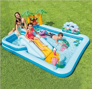 Intex Jungle Adventure Play Center Inflated Swimming pool  8'5 X 7'1 X 2'9 Inch…
