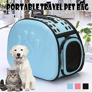 Portable  Dog Cat Travel Carry Carrier Tote Cage Bag Kennel Crates Box Holder B…