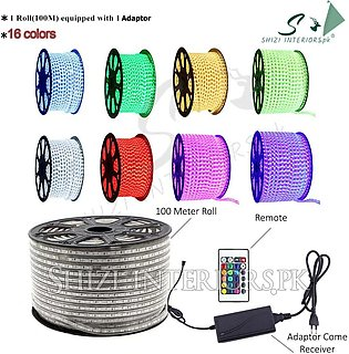 15 Meter to 100 Meter - Led Strip Light Color Changing Remote Control Rgb 5050 …
